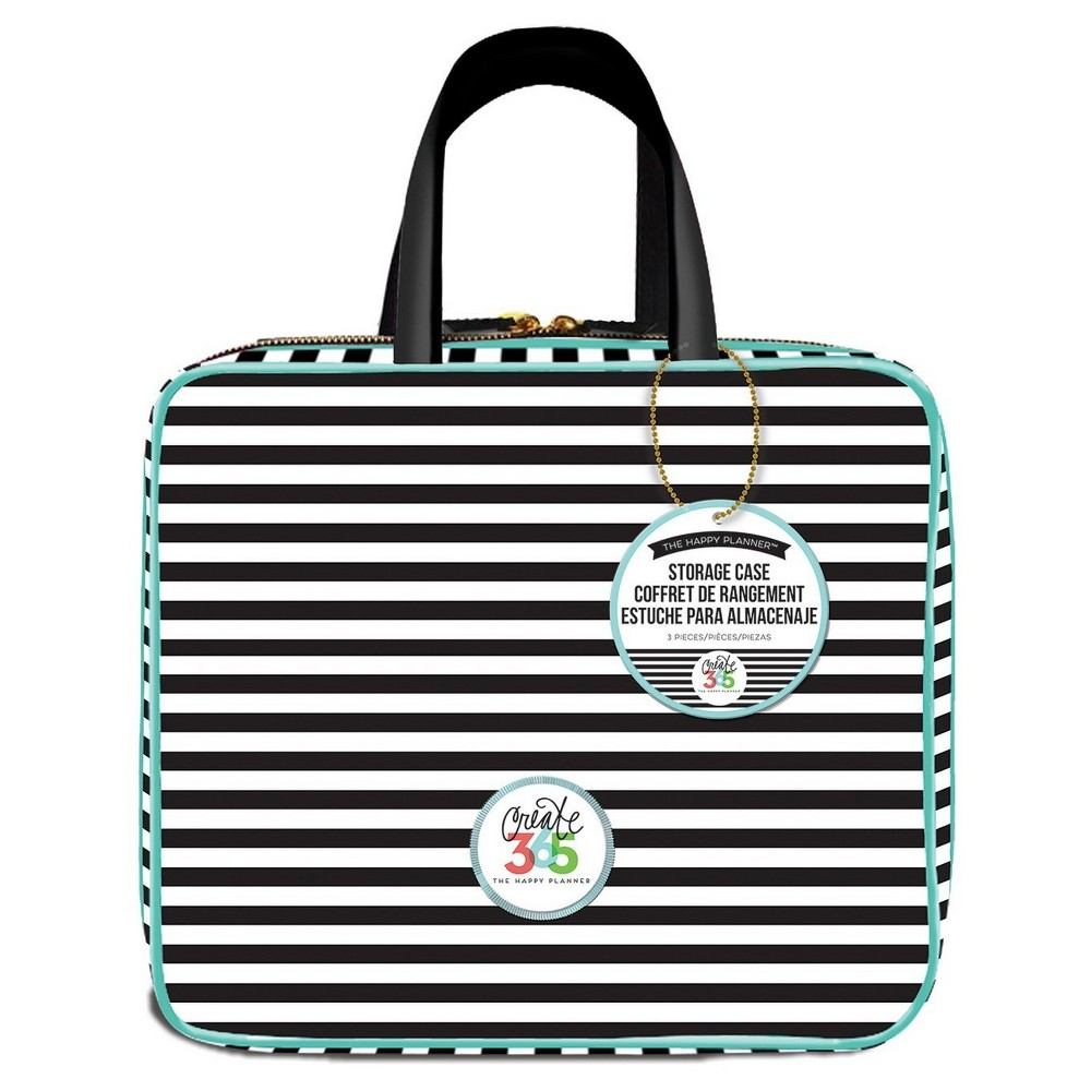 "Image of ""Create 365 Planner Storage Case-Striped 12""""x10.5"""""""