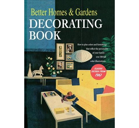 Better Homes and Gardens Decorating Book (Hardcover) - image 1 of 1