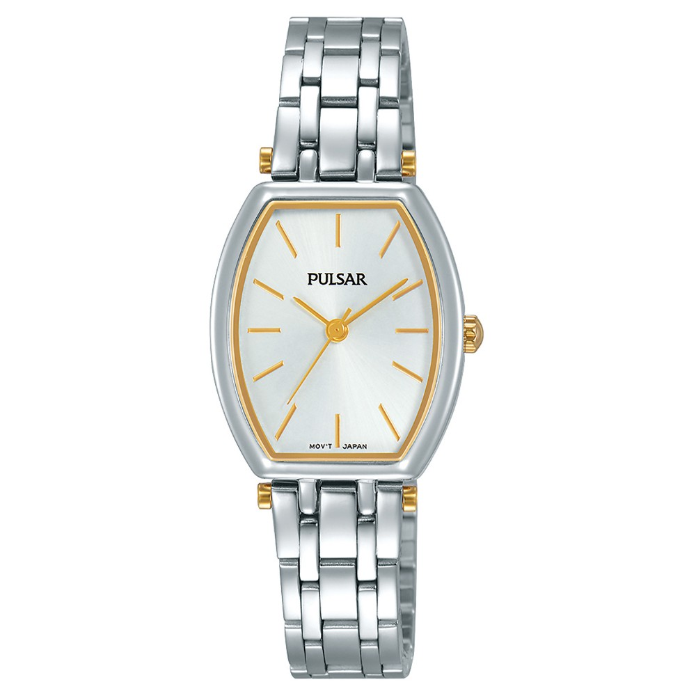 Ladies Pulsar - Silver Tone with Silver Dial - PG2049X