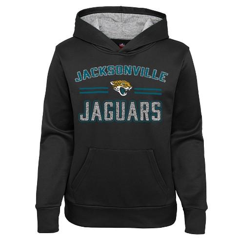 NFL Jacksonville Jaguars Girls' Fleece Hoodie - image 1 of 1