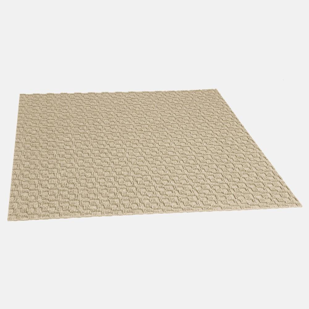 24 34 15pk Midtown Self Stick Carpet Tile Ivory Foss Floors