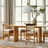 Emery Wood Dining Chair with Upholstered Seat and Sling Back Natural - Threshold™ designed with Studio McGee - image 2 of 4