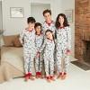 Baby Holiday Safari Animal Print Matching Family Footed Pajama - Wondershop™ Gray - image 3 of 3