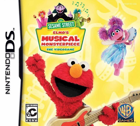 Sesame Street: Elmo's Musical Monster piece Nintendo DS - image 1 of 1