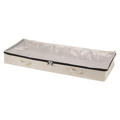 Household Essentials® Cedarline Cotton Canvas Under-Bed Storage Chest