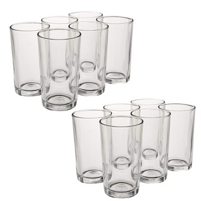 Duralex Unie 7 Ounce Clear Everyday Formal Tableware Glass Drinkware Tumbler Drinking Glasses Made in France, Set of 6 (2 Pack)