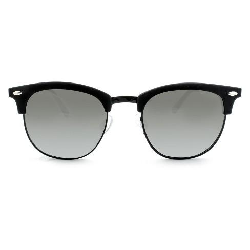 320f23a9bd2 Men s Clubmaster Sunglasses - Goodfellow   Co™ Matte Black   Target