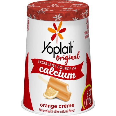 Yoplait Original Orange Cream Yogurt - 6oz