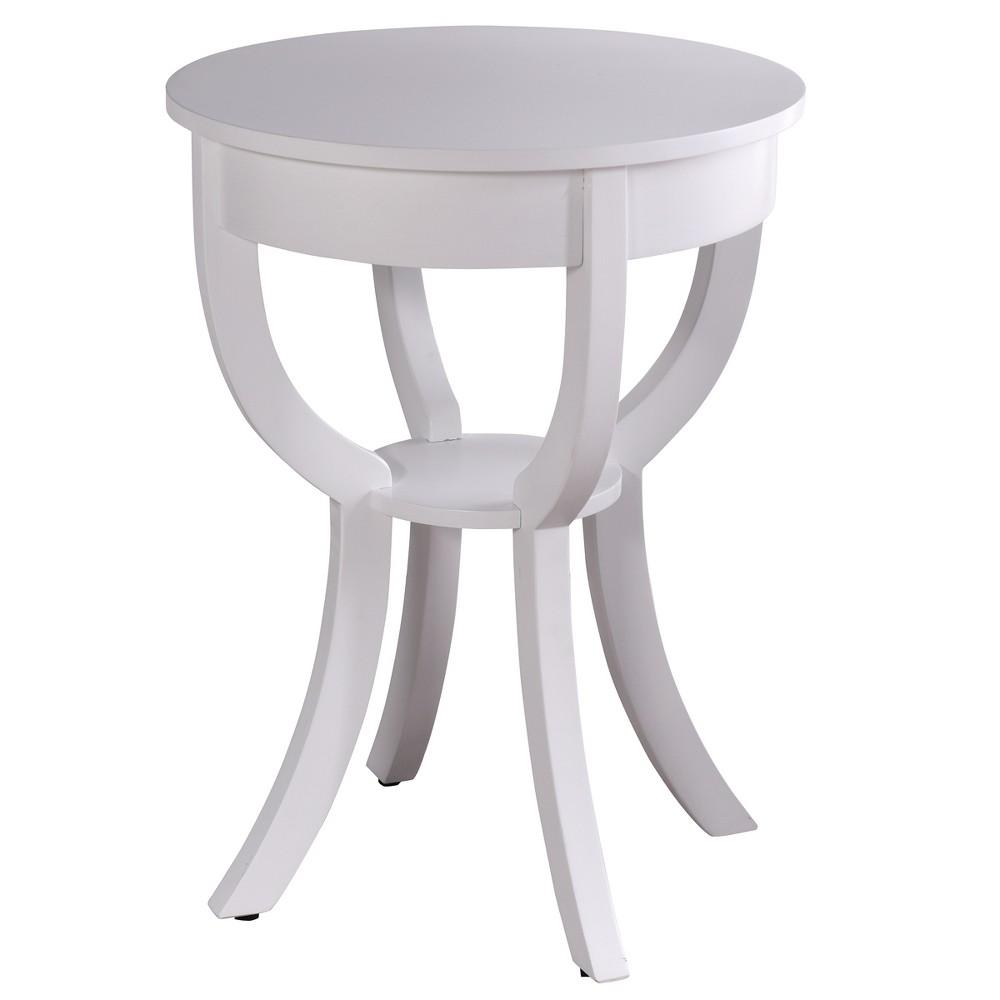 Archer Ridge Side Table White - StyleCraft