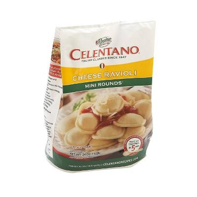 Celentano Rosina Mini Frozen Cheese Ravioli - 24oz