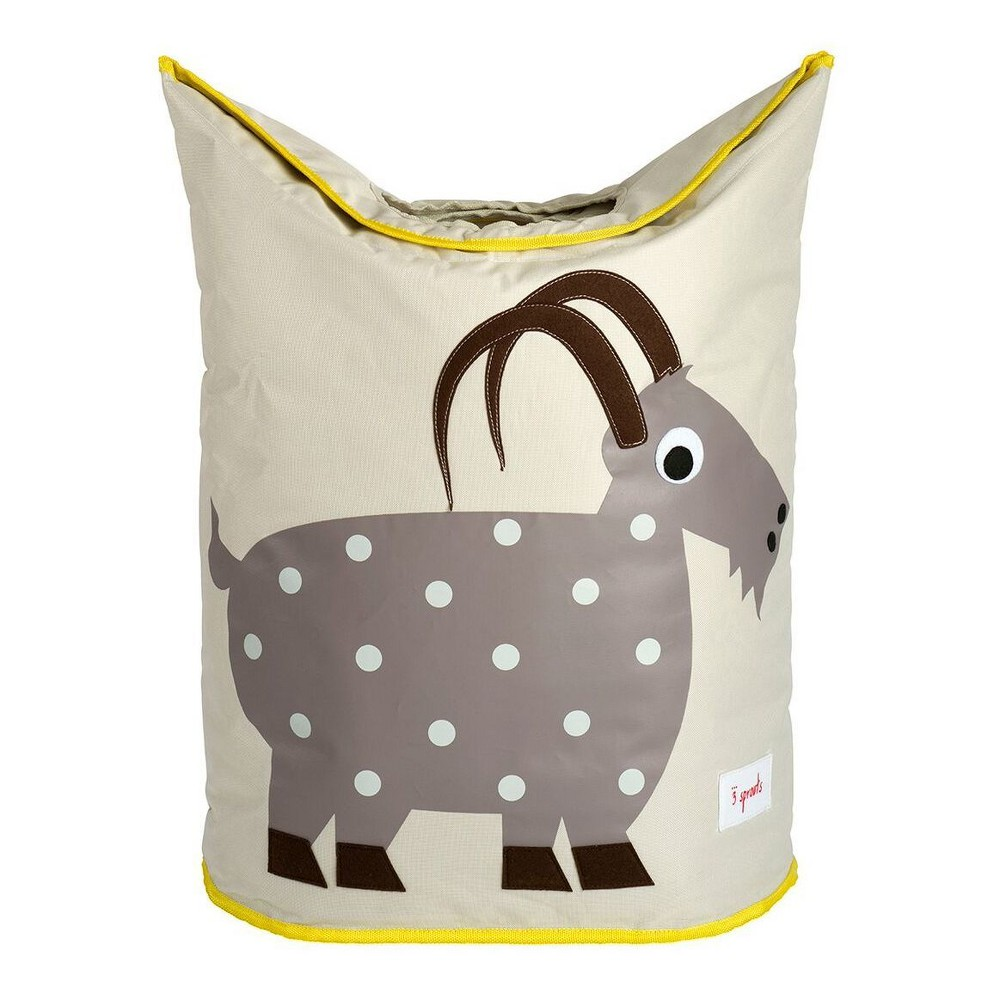 Image of Goat Canvas Storage Hamper - 3 Sprouts