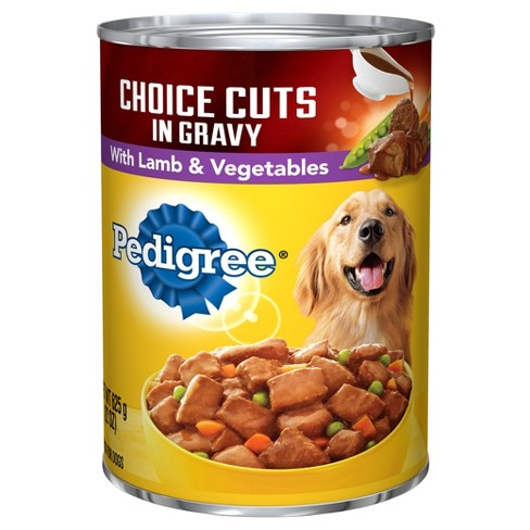 Pedigree® Lamb & Vegetables in Gravy Choice Cuts Wet Dog Food - 22oz - image 1 of 1