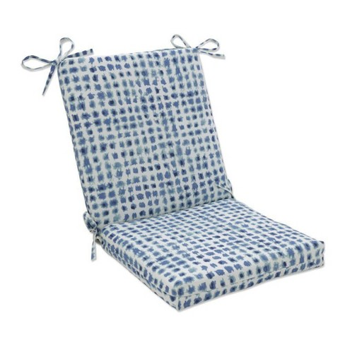 Outdoor/Indoor Alauda Squared Corners Chair Cushion Porcelain Blue - Pillow Pad - image 1 of 1