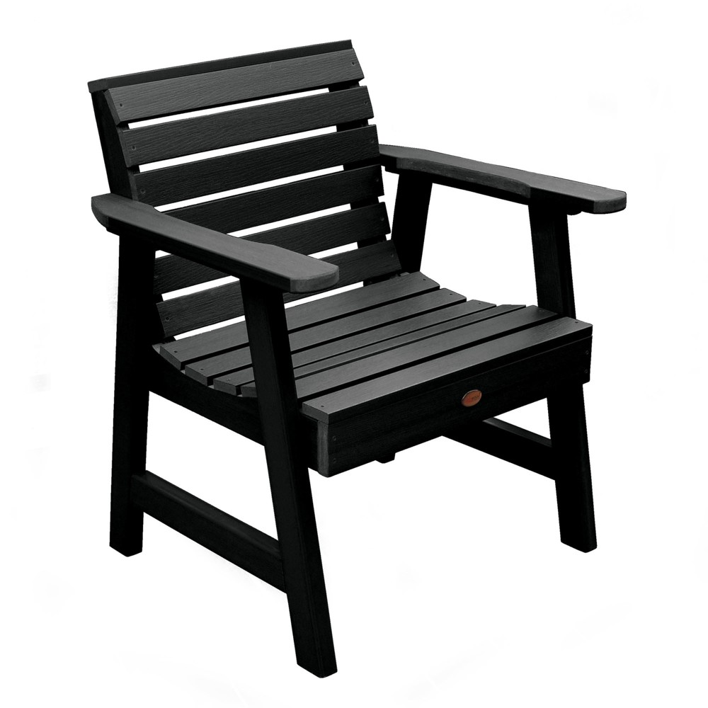 Peachy Weatherly Garden Chair Black Highwood Evergreenethics Interior Chair Design Evergreenethicsorg