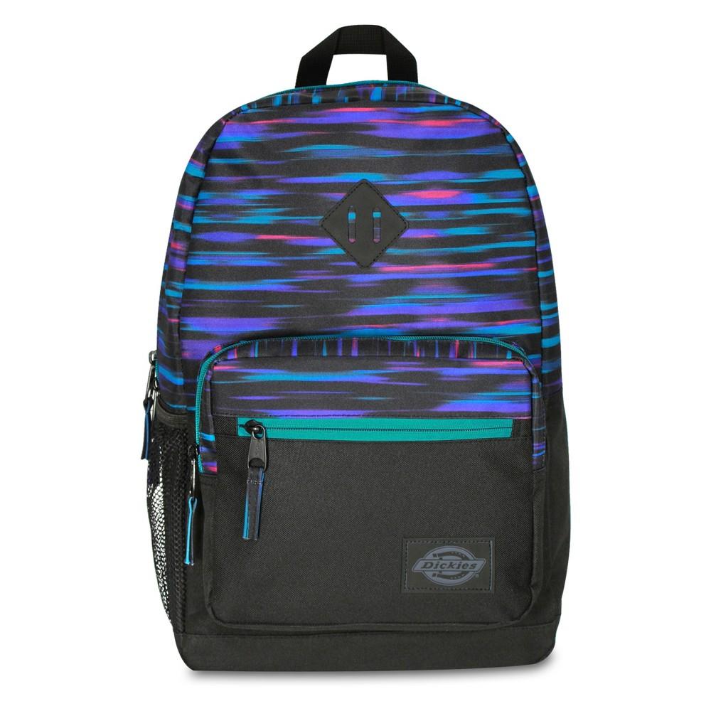 Dickies 17.5 Study Hall Backpack - Neon Lights, Black Space Dye