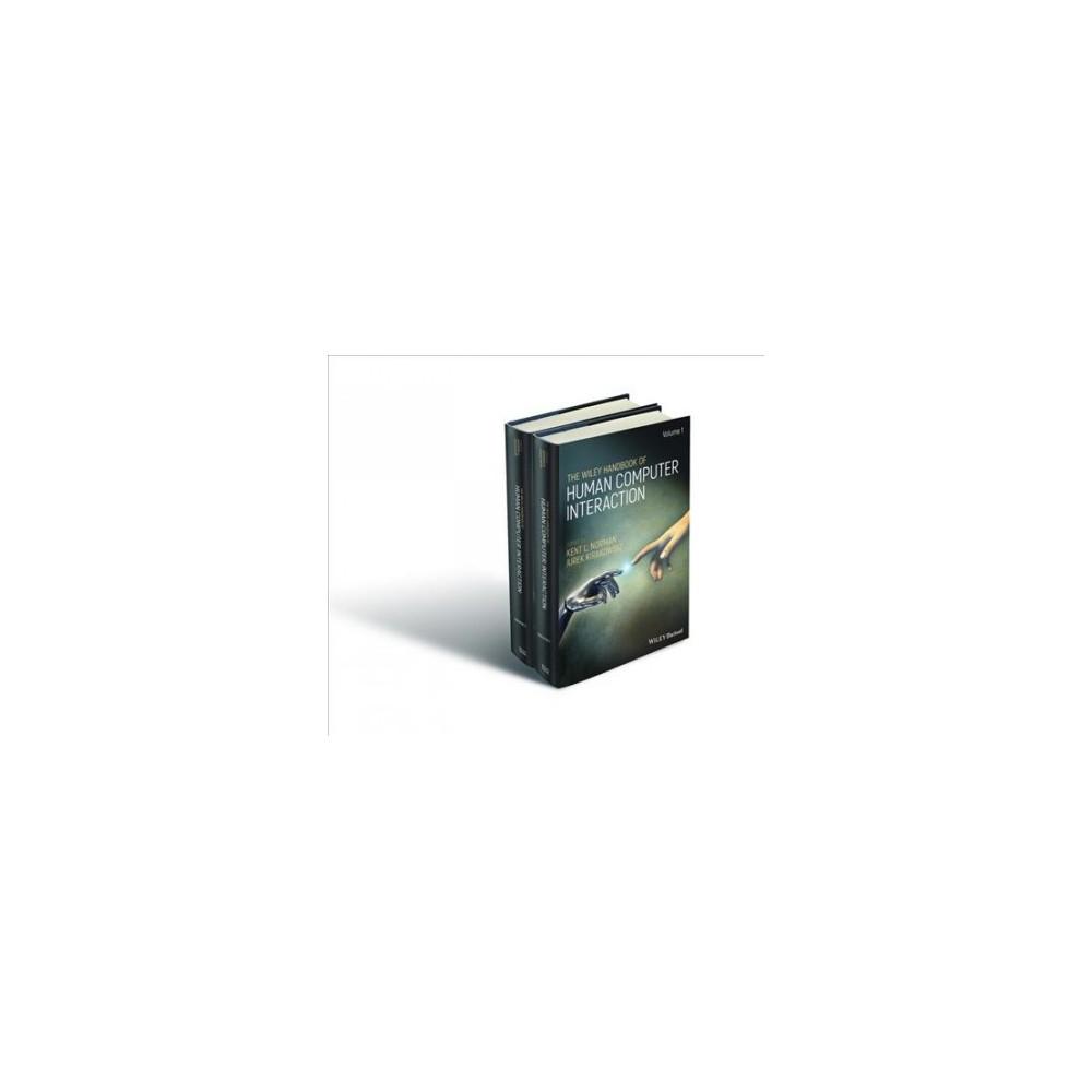 Wiley Handbook of Human Computer Interaction - (Hardcover)