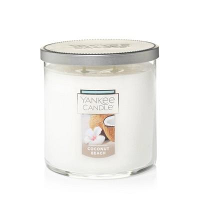 12.5oz Lidded Glass Jar 2-Wick Coconut Beach Candle - Yankee Candle