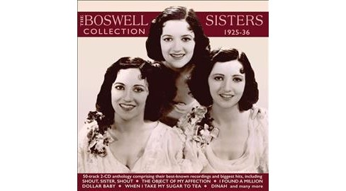 Boswell Sisters - Collection:1925-1936 (CD) - image 1 of 1