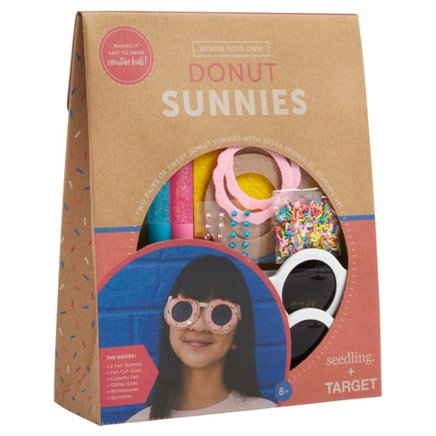 Seedling® Create Your Own Donut Sunnies Craft Kit - image 1 of 4