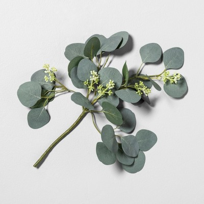 16  Faux Eucalyptus Stem with Berries - Hearth & Hand™ with Magnolia