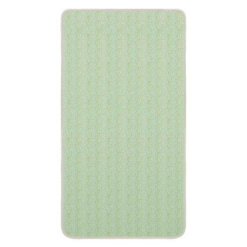 Dream On Me Story Time 2-Sided Crib & Toddler 150 Coil Mattress - Green - image 1 of 4