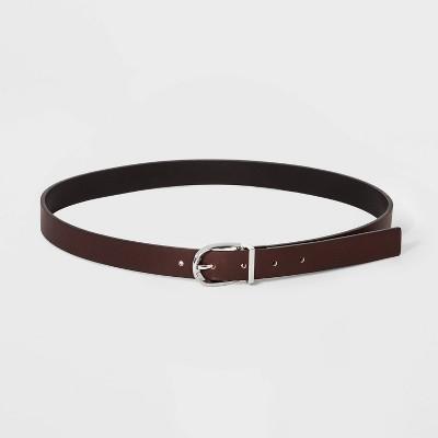 Women's Reversible Belt - A New Day™ Black/Brown