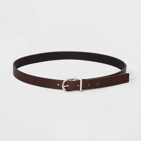 Women's Reversible Belt - A New Day™ Black/Brown - image 1 of 2