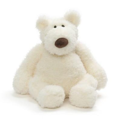 "G by GUND Creme Bear 13"" Stuffed Animal"