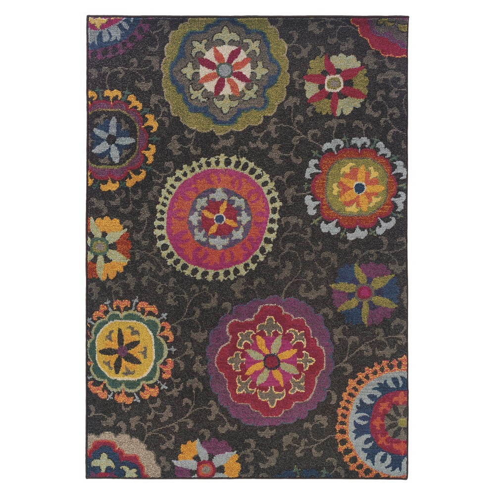 Nellie Floral Area Rug (5'3