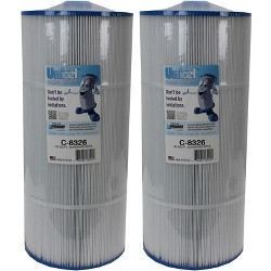 2) New Unicel C-8326 Pool Replacement Cartridge Filter 125 Sq Ft Sundance Spas