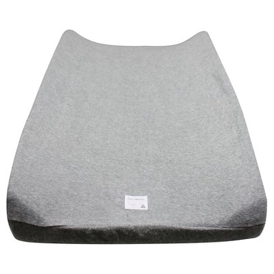 Burt's Bees Baby® Organic Changing Pad Cover Solid Terry Cloth - Gray