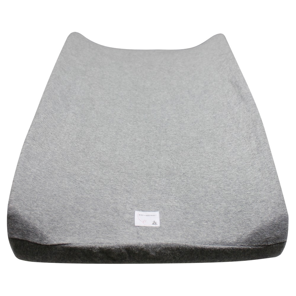 Burt S Bees Baby 174 Organic Changing Pad Cover Solid Terry Cloth Gray