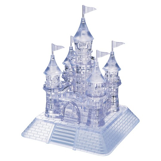 Bepuzzled Crystal Castle: 3D Puzzle 105pc image number null
