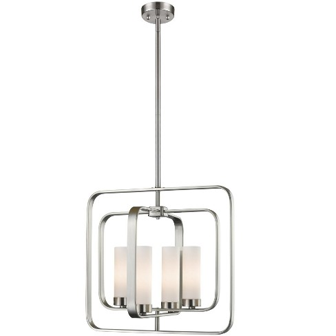 """Z-Lite 6000SFC Aideen 4 Light 16"""" Wide Shaded Chandelier - image 1 of 1"""