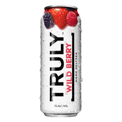 Truly Hard Seltzer Wild Berry - 24 fl oz Can - image 1 of 3