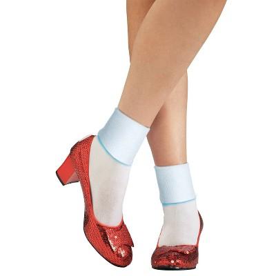 Adult Dorothy Slipper Halloween Shoes