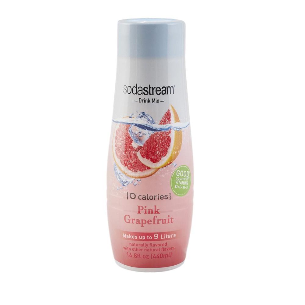 SodaStream Pink Grapefruit Zero Calorie Flavor Sodamix - 440ml