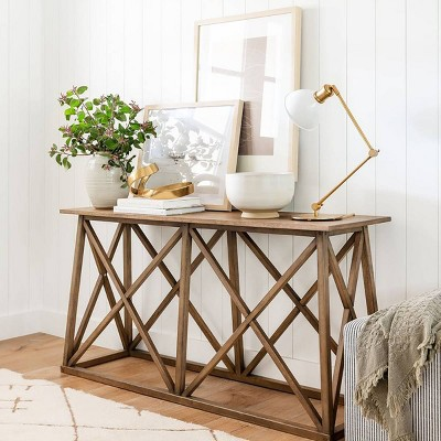 Front Entry Traditionally Styled Console Table - Threshold™ designed with Studio McGee