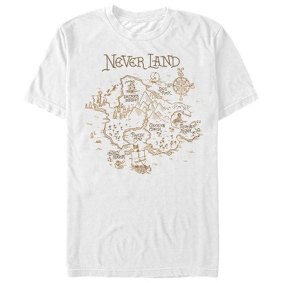 Men's Peter Pan Neverland View T-Shirt