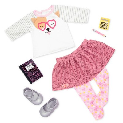 """Our Generation Fashion Outfit with School Accessories for 18"""" Dolls - Classroom Cutie"""