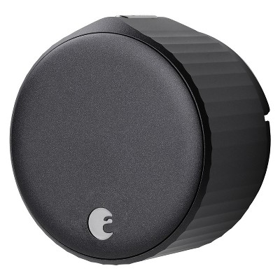 August AUG-SL05-M01-G01 Wi-Fi (4th Gen) Smart Lock - Fits Your Existing Deadbolt in Minutes, Matte Black