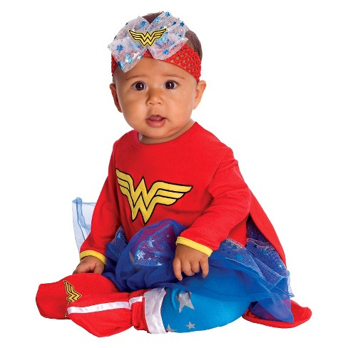Wonder Woman Baby Costume - 6-9 months - image 1 of 1