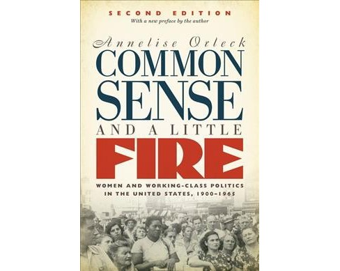 Common Sense & a Little Fire : Women and Working-Class Politics in the United States 1900-1965 - image 1 of 1