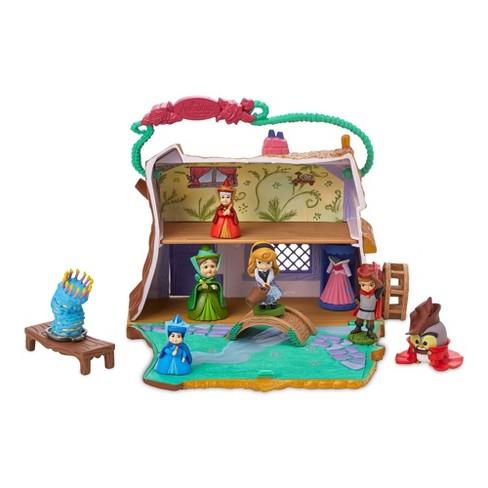 Disney Animators' Collection Littles Sleeping Beauty Aurora Cottage Playset - Disney store - image 1 of 3