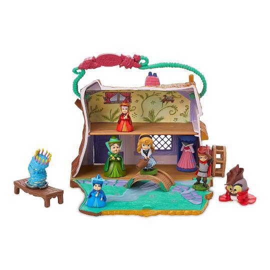 Disney Animators' Collection Littles Sleeping Beauty Aurora Cottage Playset - Disney store image number null