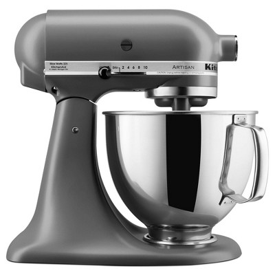 KitchenAid Artisan 5qt Tilt-Head Stand Mixer - KSM150PSFG Matte Gray - Closeout