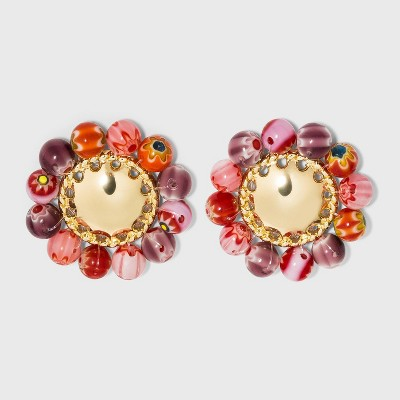 SUGARFIX by BaubleBar Beaded Statement Stud Earrings