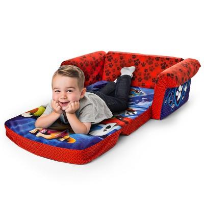 marshmallow furniture children s 2 in 1 flip open foam sofa rh target com