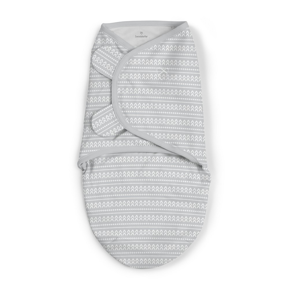 SwaddleMe Original Swaddle - Arrows Up - S/M, Gray