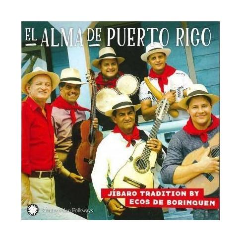 Ecos De Borinquen - El Alma de Puerto Rico: JAbaro Tradition (CD) - image 1 of 1